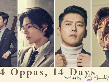 14 Oppas, 14 Days: Part 1