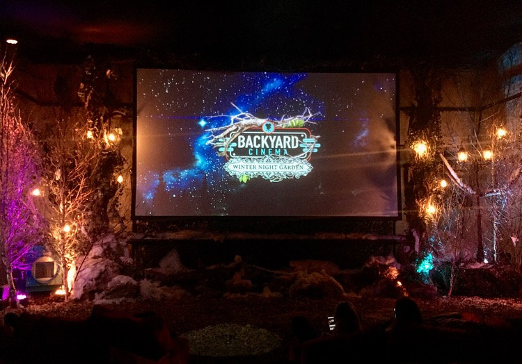 Real Life Narnia – The Backyard Cinema's Winter Night Garden, SE1