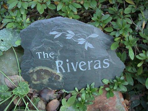 Large personalized stone