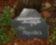 personalized stone