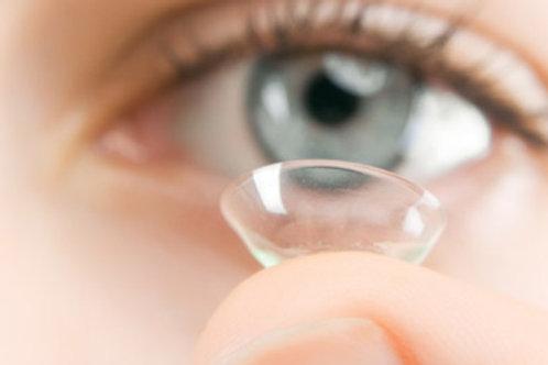 Par de lentes de contacto blandos tóricos
