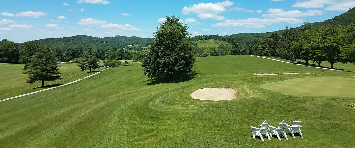 Golf Course Lake St. Catherine Vermont