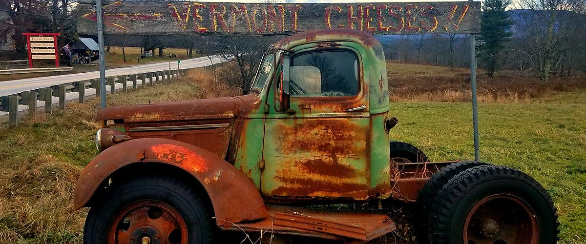 Vermont Cheese Truck Vermont