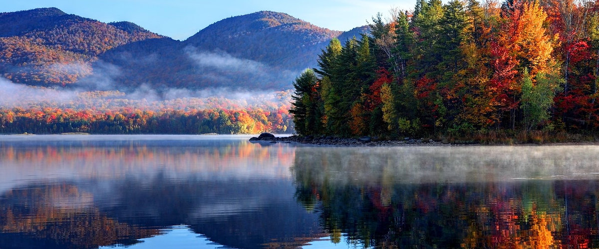 Green Mountains Fall Foliage Vermont