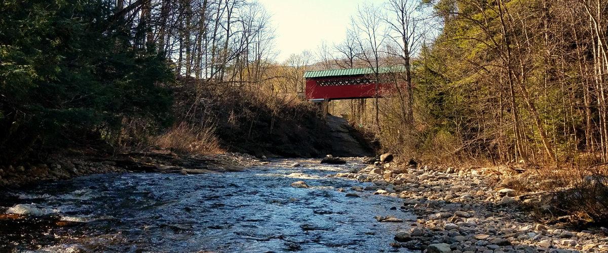 chiselville coverd bridge sunderland vermont
