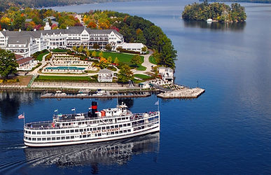 Lake George steamboat cruise New York