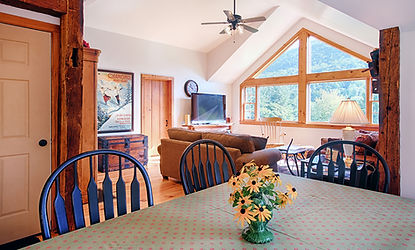 living and dining room apartment vermont