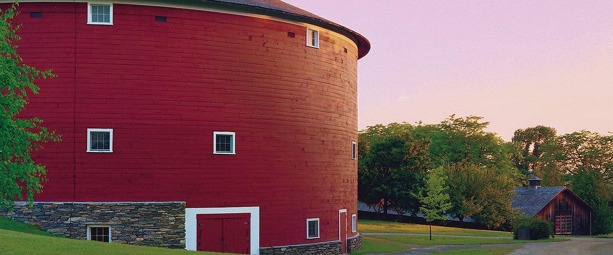 Shelburne Museum Round Barn Vermont