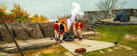 Fort Ticonderoga solders reenactment