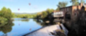 Simon Pearce Mill Balloons Billings Vermont