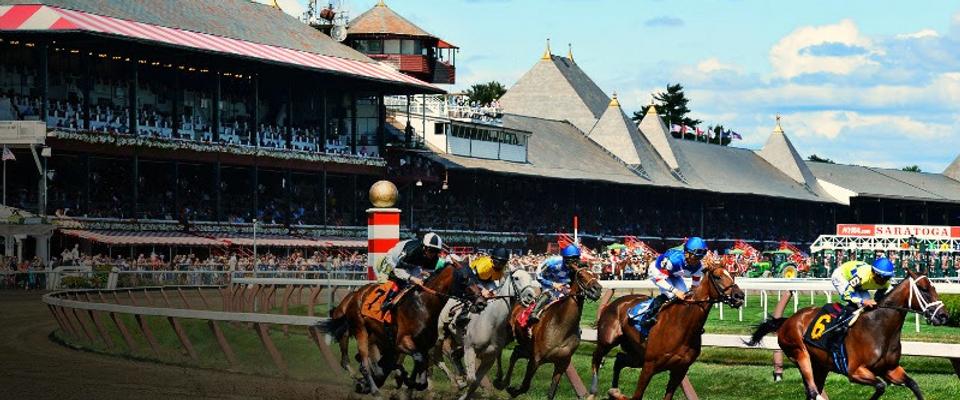 Saratoga Springs horse race New York