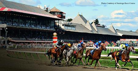 Saratoga Springs Race Track New York