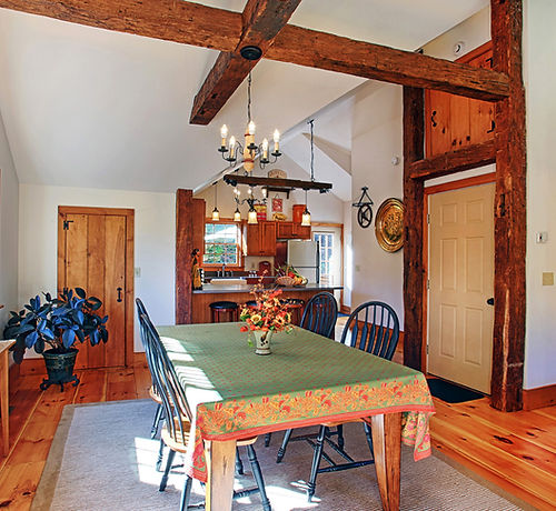 Dining Room Apartment loft suite Pond mountain inn vermont