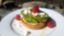 Avocado Toast Pond Mountain Inn Bed and Breakfast Vermont