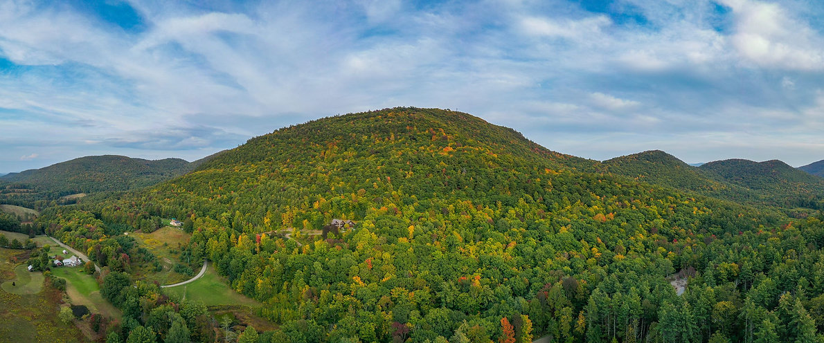 View of Mountain Wells Vermont