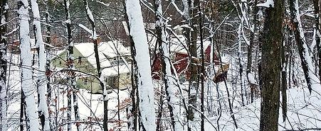 Pond Mountain Inn Winter Scene