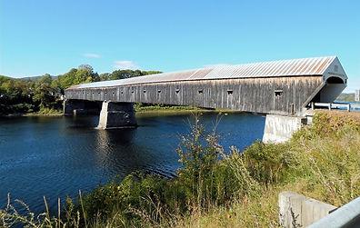 Double Covered Bridge Vermont