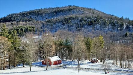 Garden Cottage in Winter Pond Mountain Inn