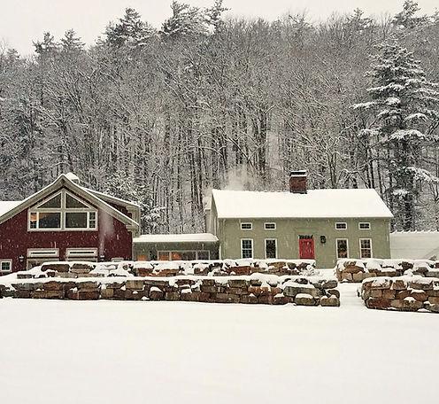 Pond Mountain Inn Vermont Winter