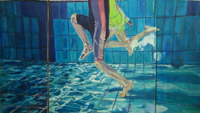 Skipping through the water, 2006