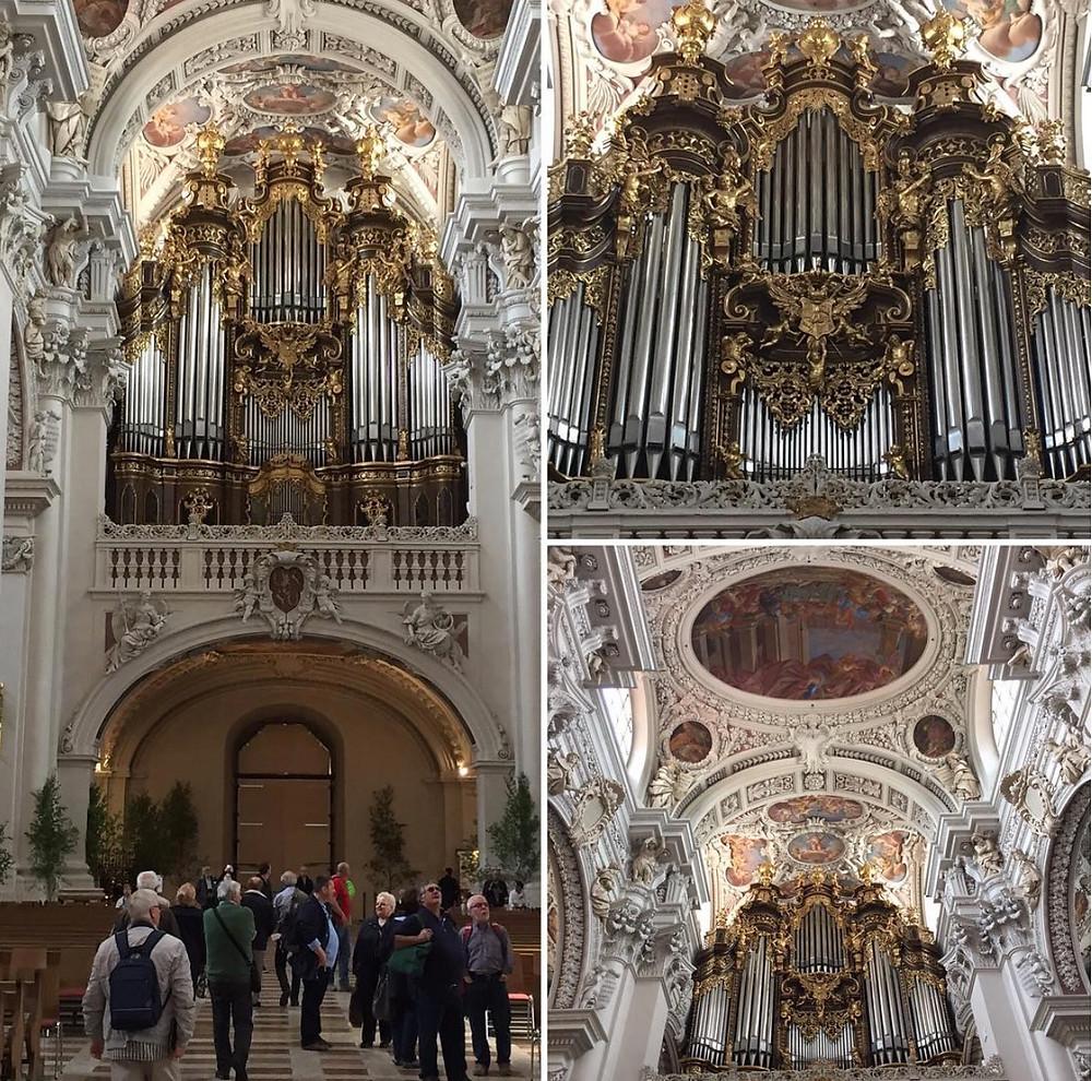 Laufinstinkt+ Mai-Notizen 2016 - Passau, Dom, Orgel