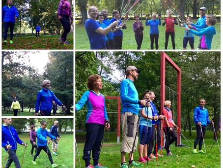 "NORDIC WALKING AUFBAUKURS ""NW+J"" | Lauftherapie, Laufkurse, Nordic Walking, Lauftraining"