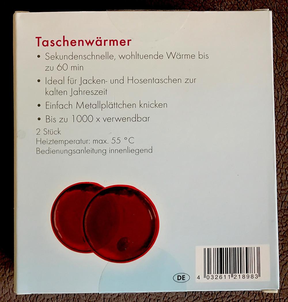 Laufinstinkt+ Schwaben Augsburg - Taschenwärmer IAN 277995 - Bild 2