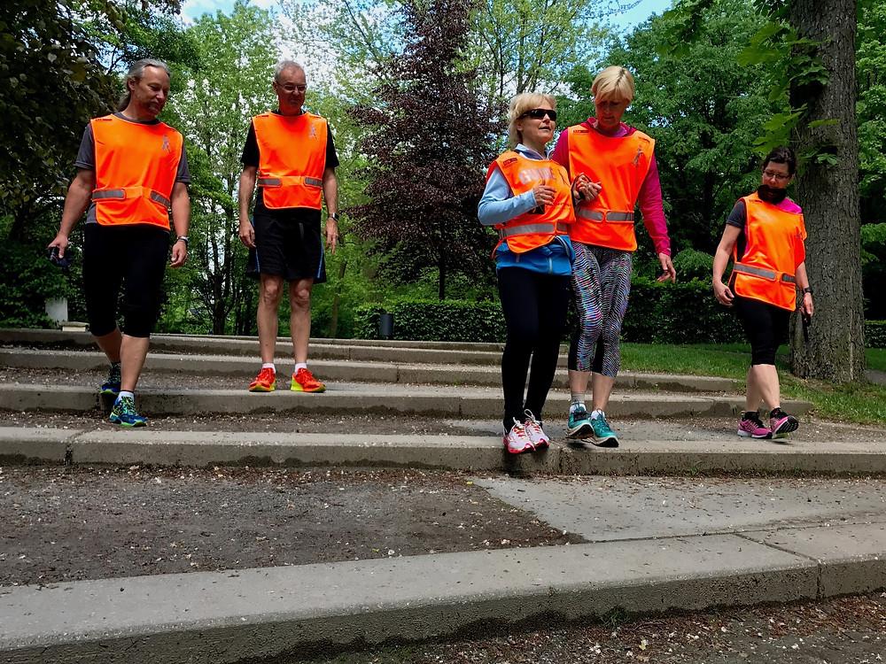 Laufinstinkt+® Augsburg - Blind-Jogging Bild 2