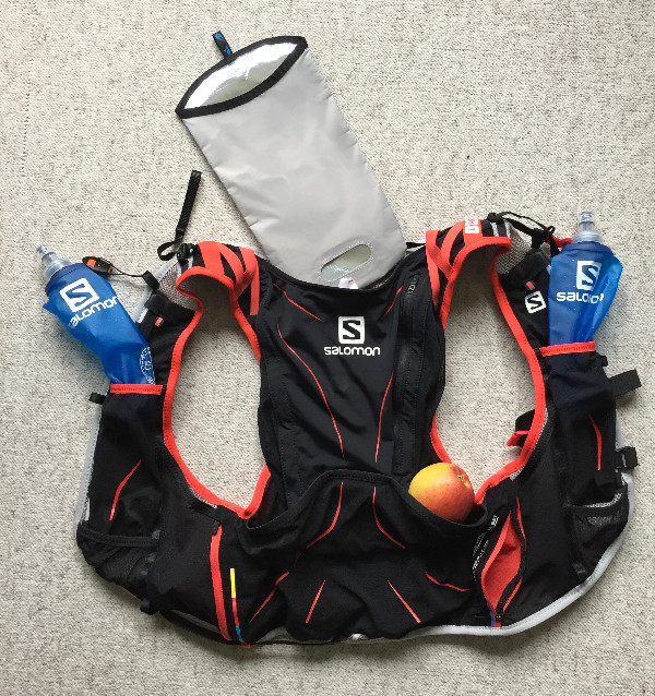"Laufinstinkt+ Rucksack ""SALOMON advanced skin s-lab hydro 12"" B"