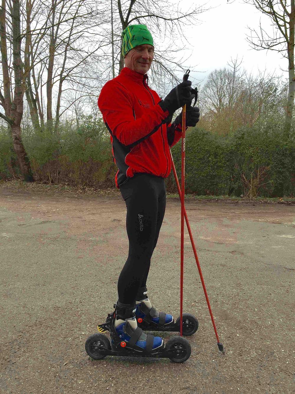 Laufinstinkt | Skiken | Nordic Roll-Ski | Cross-Skating 2