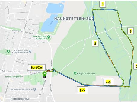 ABSTANDSLAUF C19-BLUES-FIDEL | Laufkurse & Lauftraining Augsburg