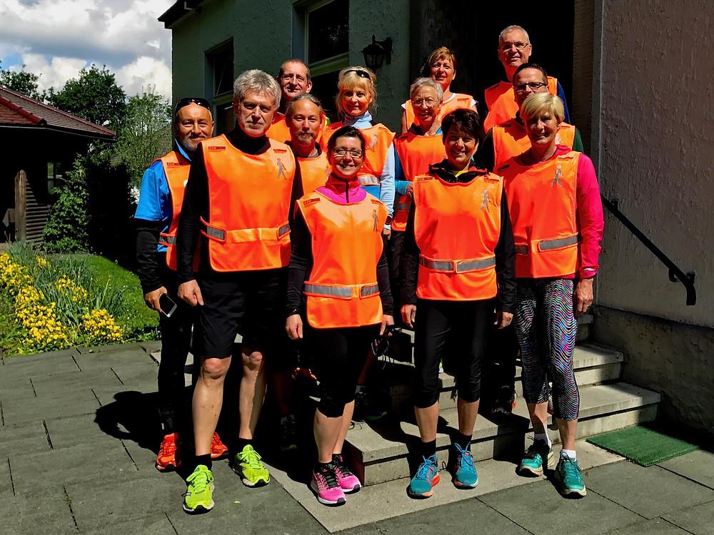 Laufinstinkt+® Augsburg - Blind-Jogging Bild 1