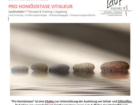 "VITALKUR ""PRO HOMÖOSTASE"" | Ernährungstraining"