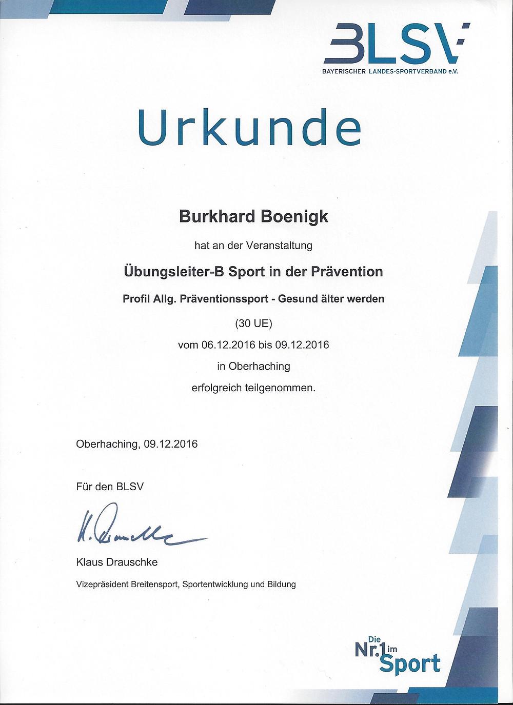 """Laufinstinkt Augsburg - Übungsleiter-B """"Gesund älter werden"""" - Bild 2"""