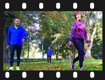 Laufinstinkt+ Nordic Walking in der Gruppe