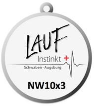 Laufinstinkt+ Medaille NW10x3