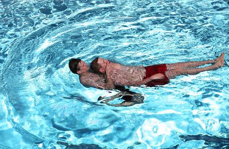 Laufinstinkt Schwaben Augsburg - Rettungsschwimmer 3