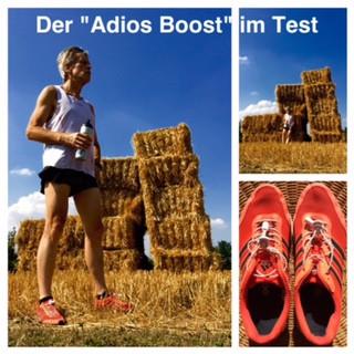 "Laufinstinkt+ Adidas ""Adios Boost""  Laufschuh-Test B"