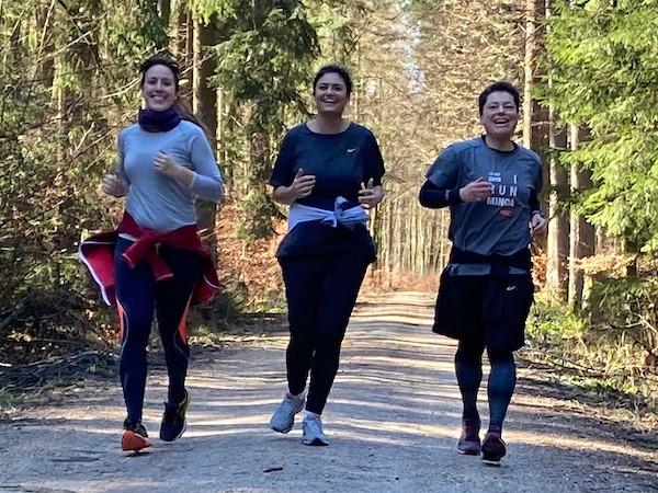 Laufinstinkt.de Herzensangelegenheit - Damenlaufgruppe