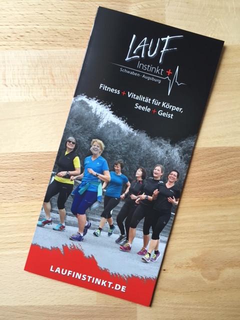 Laufinstinkt+ Schwaben Augsburg Prospekt   Information   Angebot Kurse und Seminare A