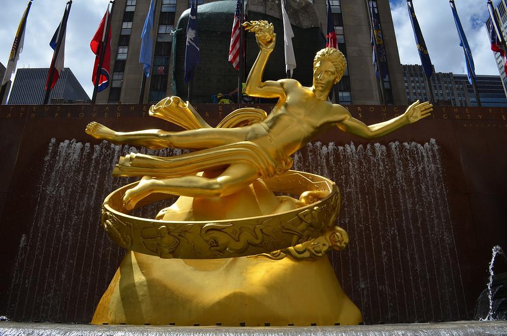 Laufinstinkt+® Ernährungstraining   Prometheus-Brunnen