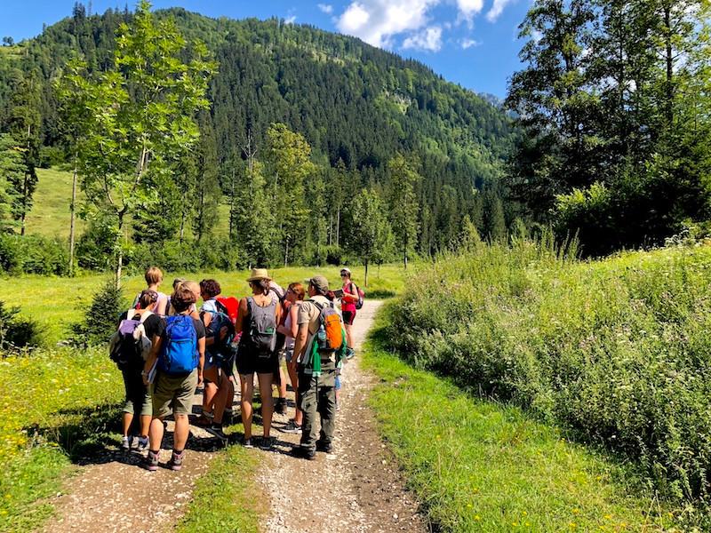 Laufinstinkt.de Wildkräuterführung auf der Rettenbachalm 2018-07-28 Bild 4