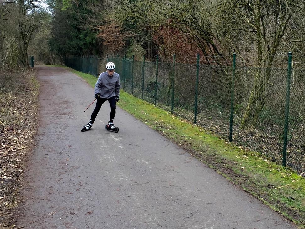 Laufinstinkt | Skiken | Nordic Roll-Ski | Cross-Skating 3