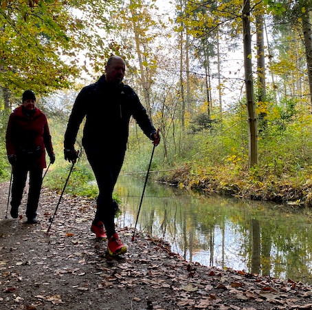 TEST NORDIC WALKING-STÖCKE IV/20 | Laufkurse Augsburg
