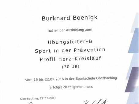 LAUFINSTINKT+ BLSV/DOSB B-LIZENZ | Laufkurse, Lauftraining, Nordic Walking, Lauftherapie