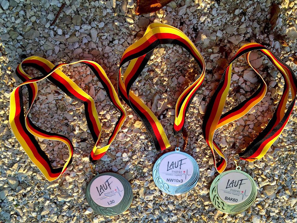 Laufinstinkt+ Medaillen Kursabsolventen