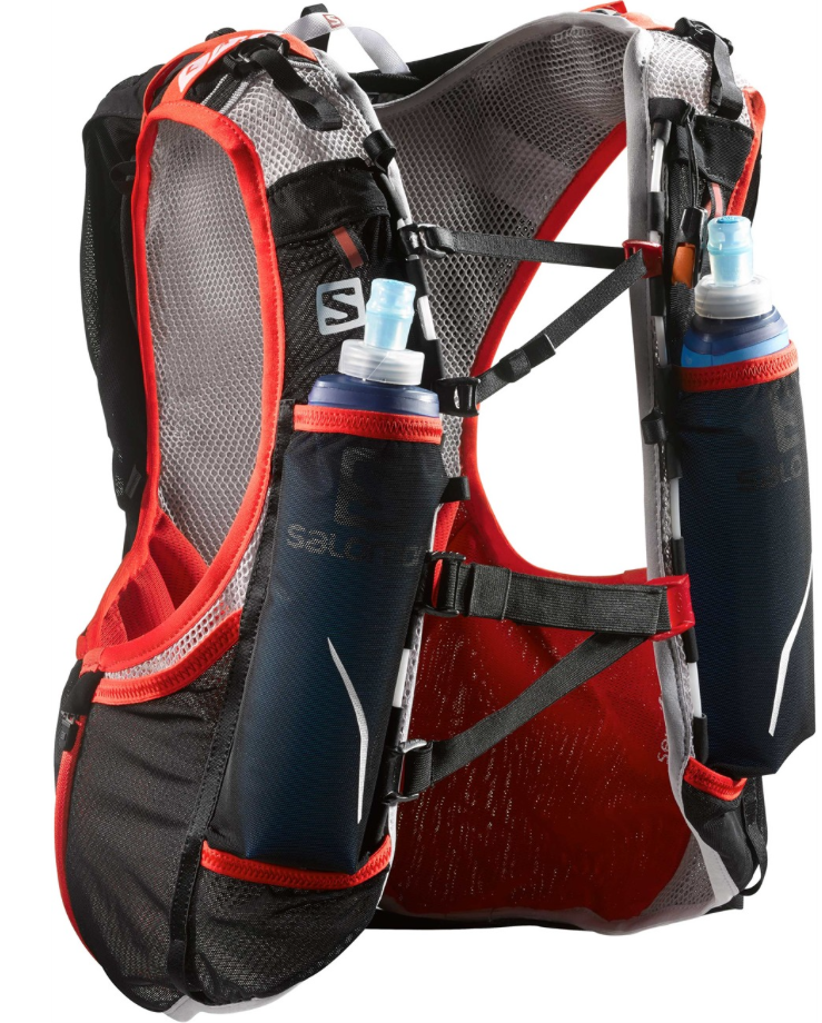 "Laufinstinkt+ Rucksack ""SALOMON advanced skin s-lab hydro 12"" A"