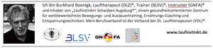 Laufinstinkt Schwaben Augsburg Dr. Burkhard Bönigk