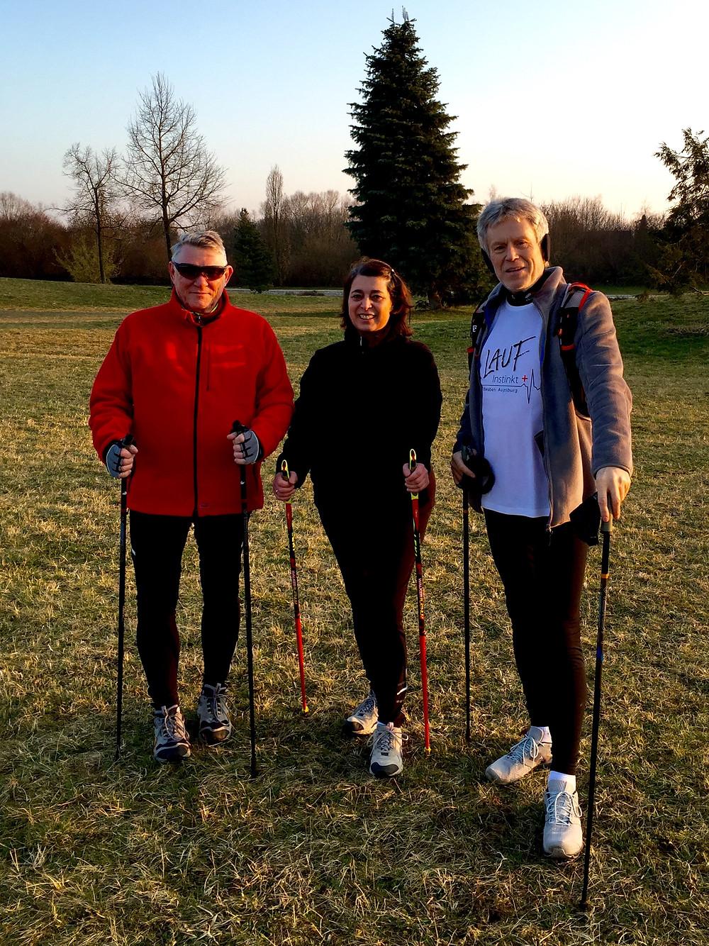 Laufinstinkt Nordic Walking März 2016 B