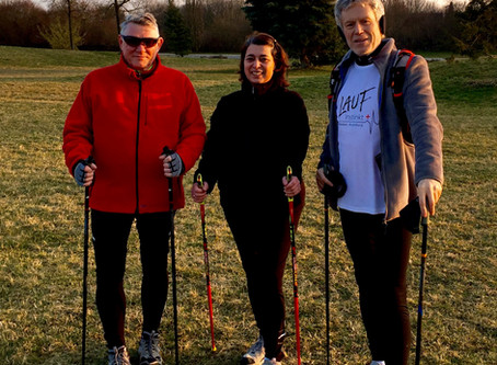 Nordic Walking Impressionen März 2016   Lauftherapie, Laufkurse, Lauftraining